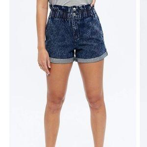 🔥HOT🔥High Waisted Paperbag Shorts XL